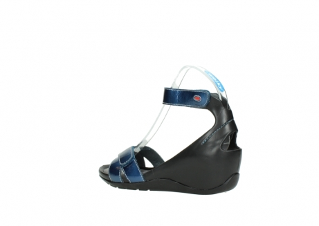 wolky sandalen 1176 do 882 denim metallic lakleer_3