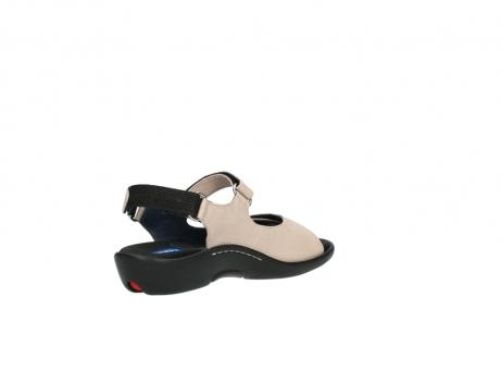 wolky sandalen 1300 salvia 262 oud roze leer_10
