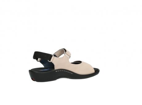 wolky sandalen 1300 salvia 262 oud roze leer_11