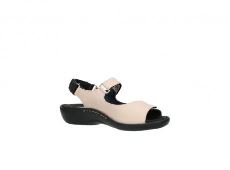 wolky sandalen 1300 salvia 262 oud roze leer_15