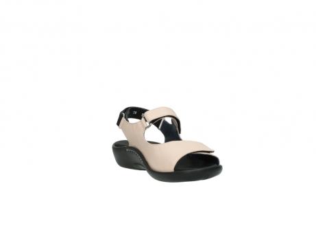 wolky sandalen 1300 salvia 262 oud roze leer_17