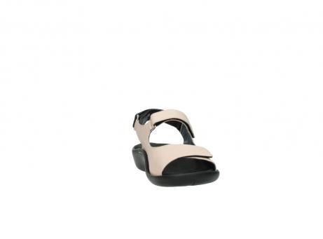 wolky sandalen 1300 salvia 262 oud roze leer_18