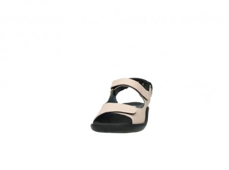 wolky sandalen 1300 salvia 262 oud roze leer_20