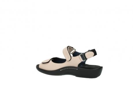 wolky sandalen 1300 salvia 262 oud roze leer_3