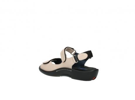 wolky sandalen 1300 salvia 262 oud roze leer_4