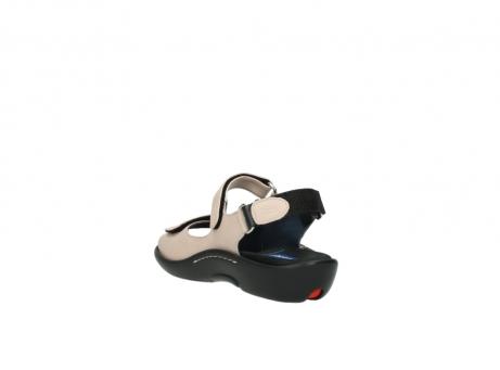 wolky sandalen 1300 salvia 262 oud roze leer_5