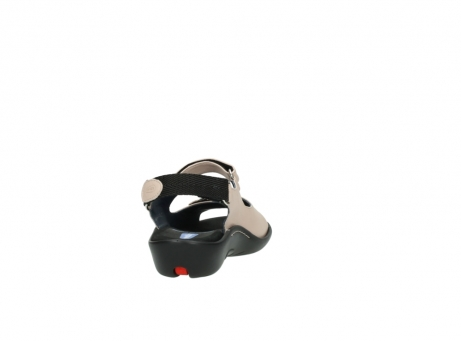 wolky sandalen 1300 salvia 262 oud roze leer_8
