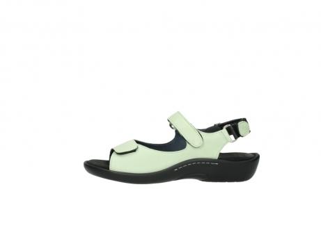 wolky sandalen 1300 salvia 270 licht groen leer_1