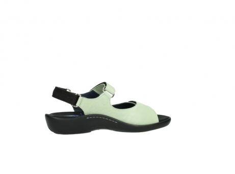 wolky sandalen 1300 salvia 270 licht groen leer_12