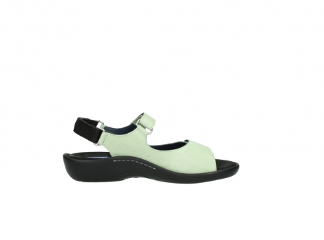 wolky sandalen 1300 salvia 270 licht groen leer_13