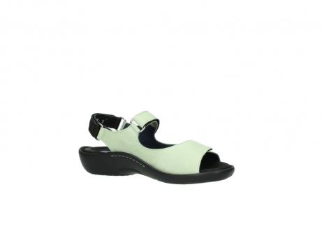 wolky sandalen 1300 salvia 270 licht groen leer_15