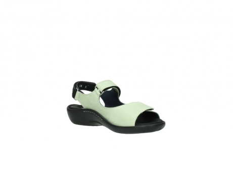 wolky sandalen 1300 salvia 270 licht groen leer_16