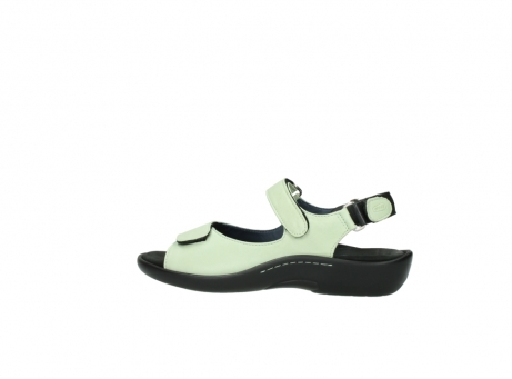 wolky sandalen 1300 salvia 270 licht groen leer_2