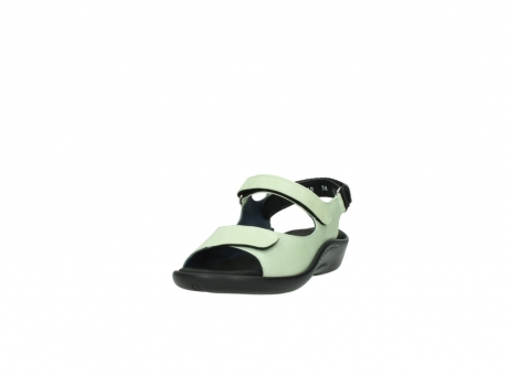 wolky sandalen 1300 salvia 270 licht groen leer_21