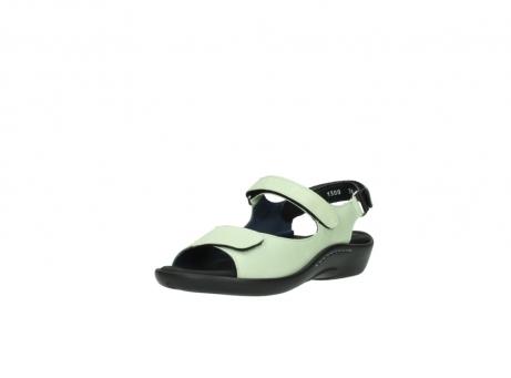wolky sandalen 1300 salvia 270 licht groen leer_22