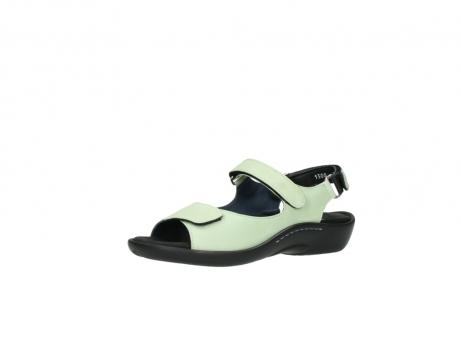 wolky sandalen 1300 salvia 270 licht groen leer_23