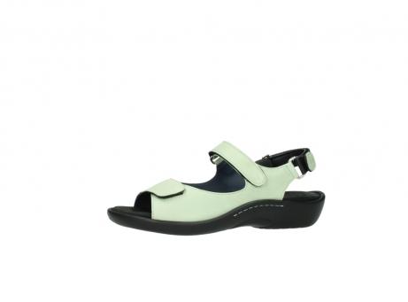wolky sandalen 1300 salvia 270 licht groen leer_24
