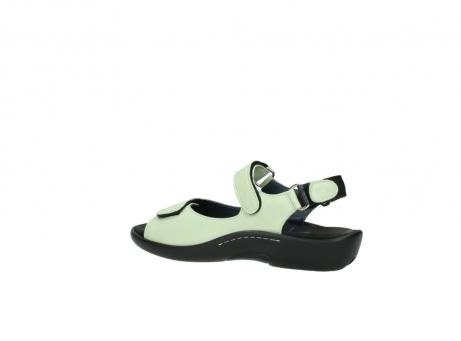 wolky sandalen 1300 salvia 270 licht groen leer_3