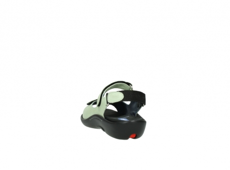 wolky sandalen 1300 salvia 270 licht groen leer_6