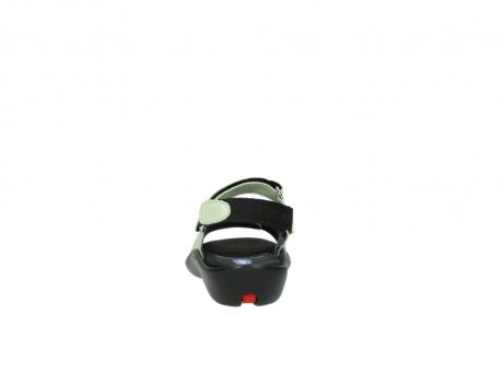 wolky sandalen 1300 salvia 270 licht groen leer_7