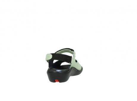 wolky sandalen 1300 salvia 270 licht groen leer_8