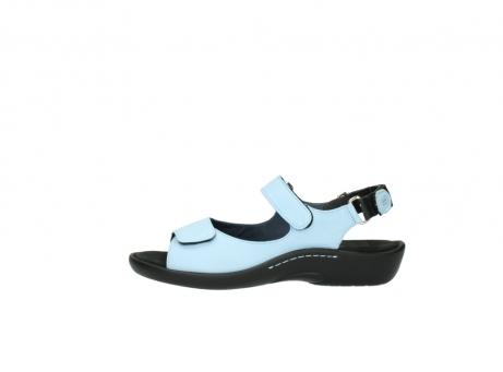 wolky sandalen 1300 salvia 280 licht blauw leer_1