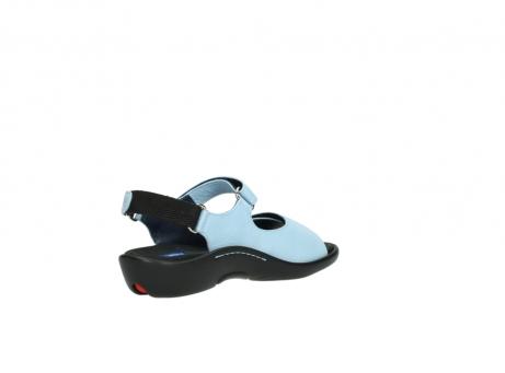 wolky sandalen 1300 salvia 280 licht blauw leer_10