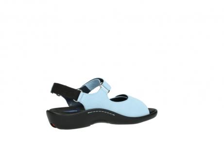 wolky sandalen 1300 salvia 280 licht blauw leer_11