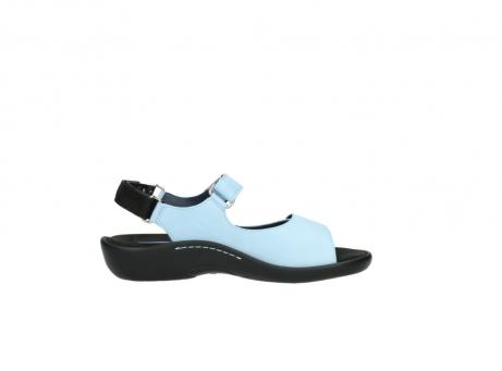 wolky sandalen 1300 salvia 280 licht blauw leer_13