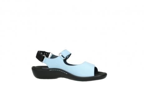 wolky sandalen 1300 salvia 280 licht blauw leer_14