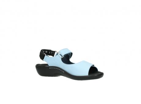 wolky sandalen 1300 salvia 280 licht blauw leer_15