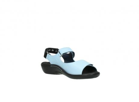 wolky sandalen 1300 salvia 280 licht blauw leer_16