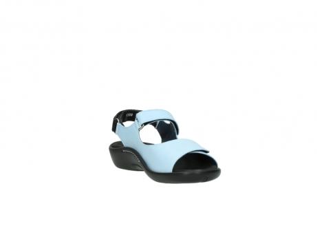 wolky sandalen 1300 salvia 280 licht blauw leer_17