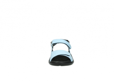 wolky sandalen 1300 salvia 280 licht blauw leer_19