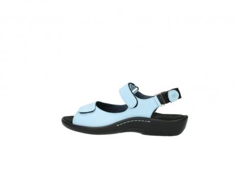 wolky sandalen 1300 salvia 280 licht blauw leer_2