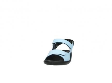 wolky sandalen 1300 salvia 280 licht blauw leer_20