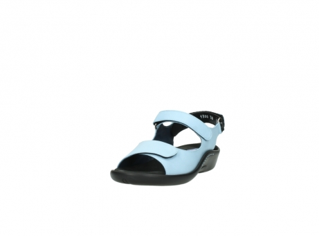 wolky sandalen 1300 salvia 280 licht blauw leer_21