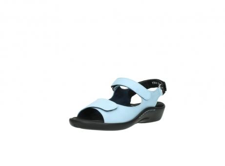 wolky sandalen 1300 salvia 280 licht blauw leer_22
