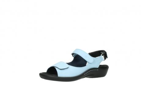 wolky sandalen 1300 salvia 280 licht blauw leer_23