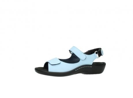 wolky sandalen 1300 salvia 280 licht blauw leer_24