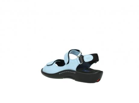 wolky sandalen 1300 salvia 280 licht blauw leer_4