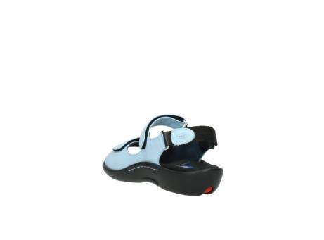 wolky sandalen 1300 salvia 280 licht blauw leer_5