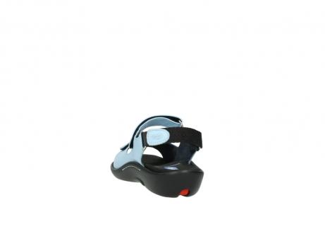 wolky sandalen 1300 salvia 280 licht blauw leer_6