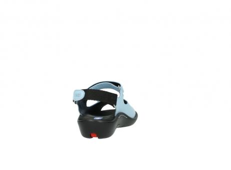 wolky sandalen 1300 salvia 280 licht blauw leer_8