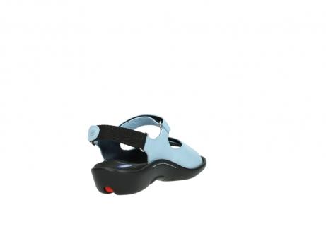 wolky sandalen 1300 salvia 280 licht blauw leer_9