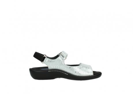 wolky sandalen 1300 salvia 612 gebroken wit slangenprint metallic leer_13
