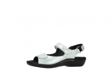 wolky sandalen 1300 salvia 612 gebroken wit slangenprint metallic leer_24
