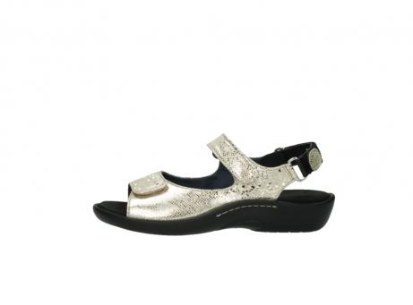 wolky sandalen 1300 salvia 614 goud slangenprint metallic leer_1