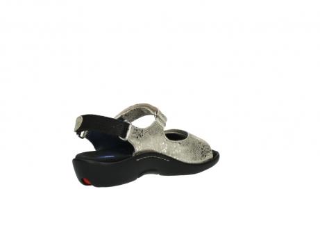 wolky sandalen 1300 salvia 614 goud slangenprint metallic leer_10
