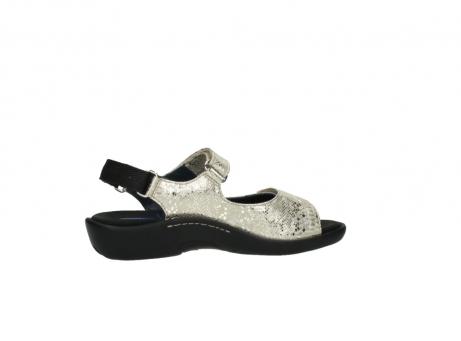 wolky sandalen 1300 salvia 614 goud slangenprint metallic leer_12